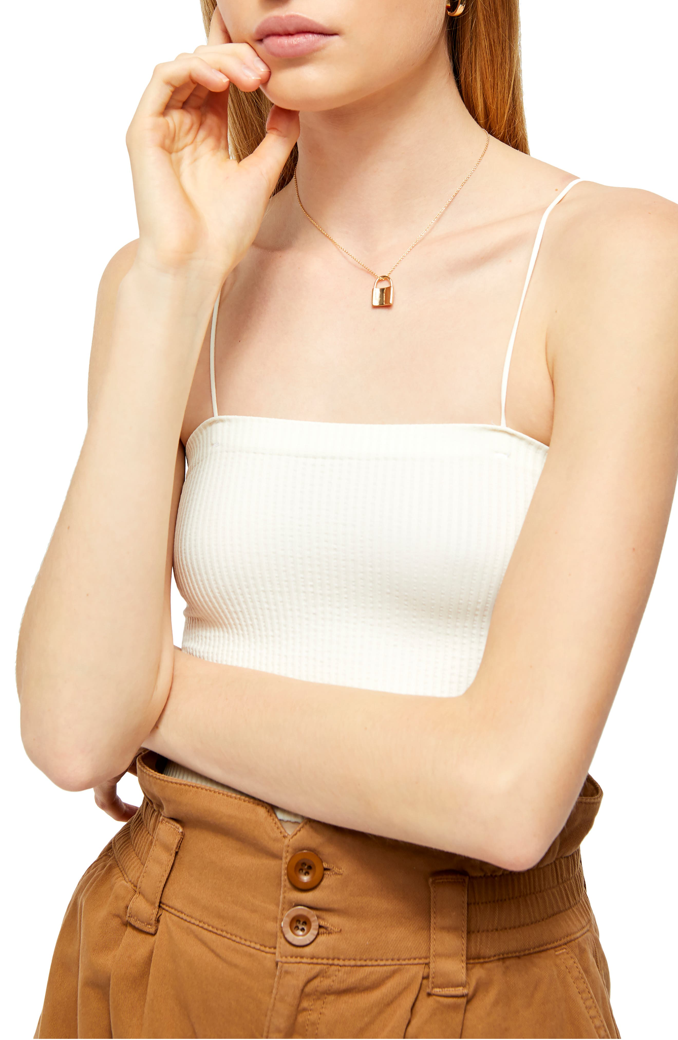 Bungee Strap Tube Top