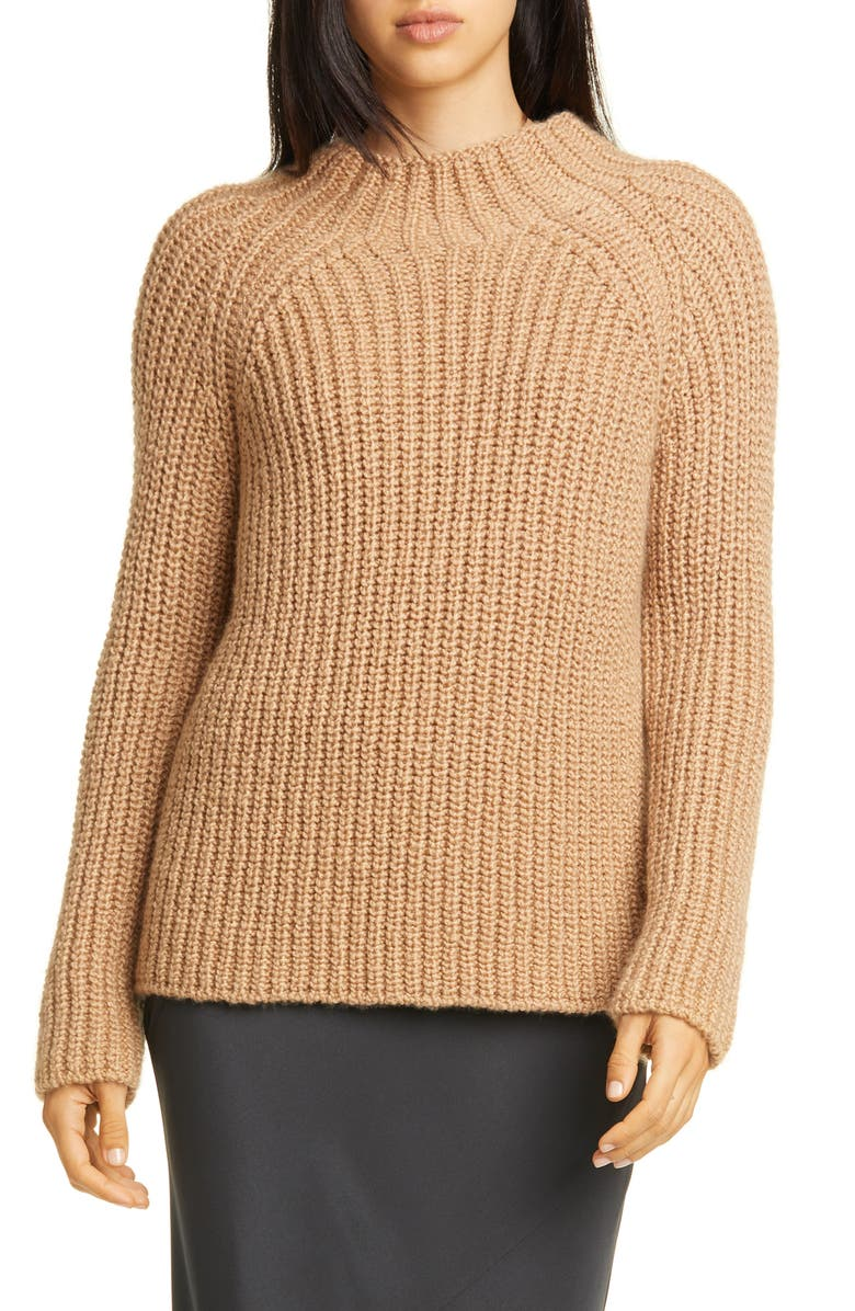 EILEEN FISHER Funnel Neck Sweater, Main, color, 250