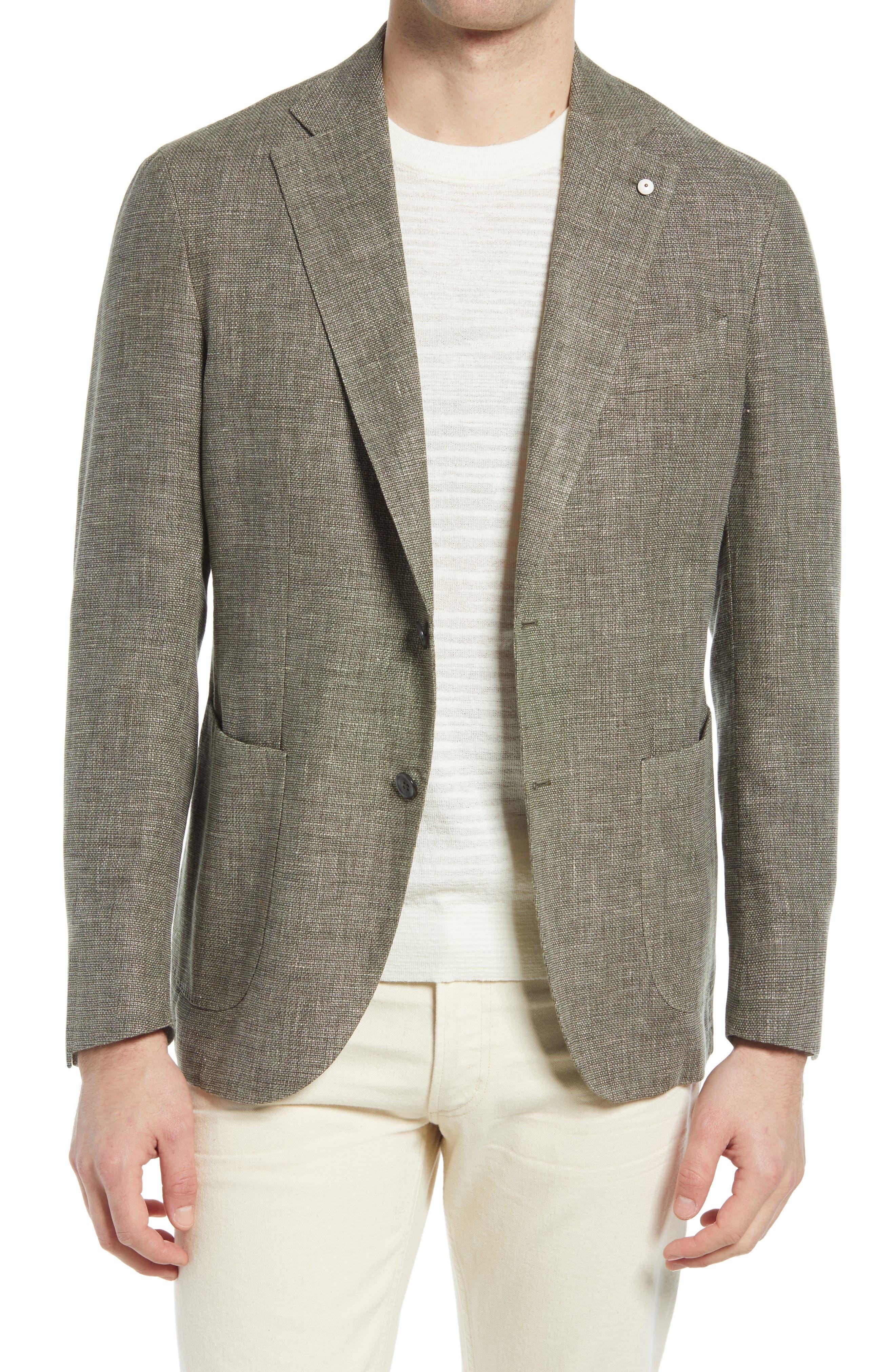1911 Modern Fit Melange Wool Blend Sport Coat