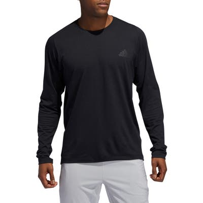 Adidas Freelift Stretch Long Sleeve T-Shirt, Black