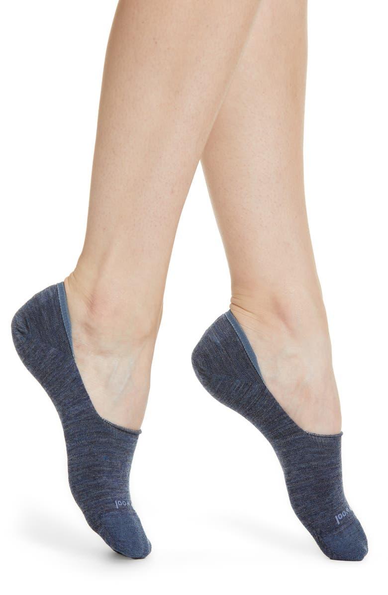 SMARTWOOL Hide & Seek No-Show Socks, Main, color, DARK BLUE STEEL