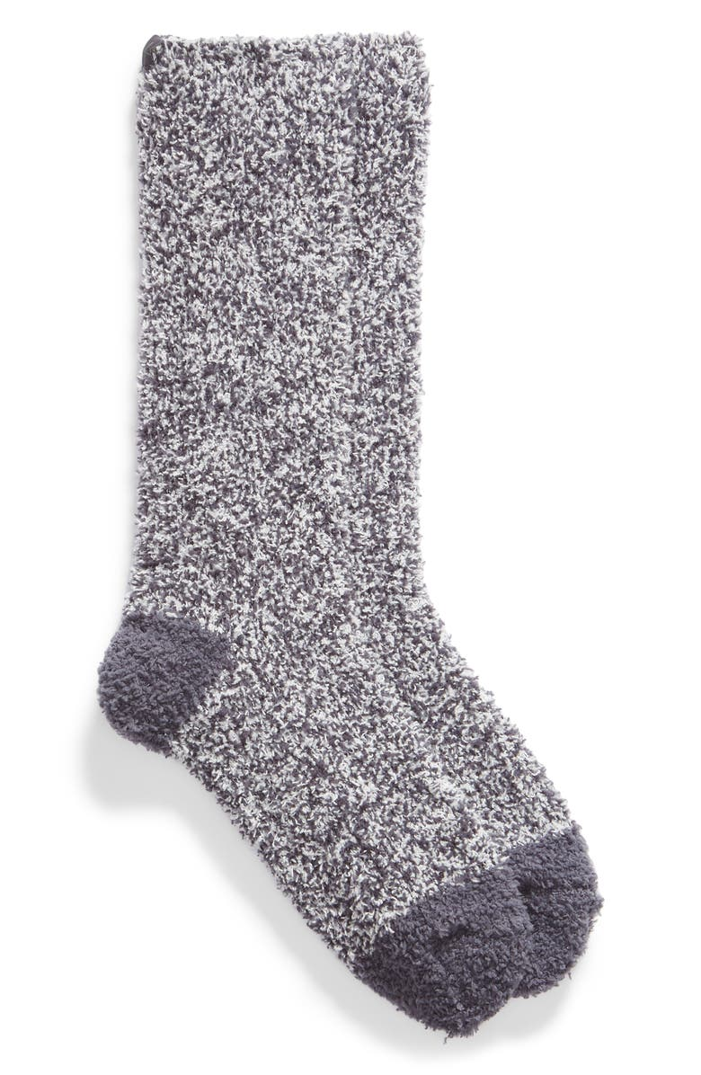 BAREFOOT DREAMS<SUP>®</SUP> CozyChic<sup>™</sup> Two Tone Socks, Main, color, PACIFIC BLUE