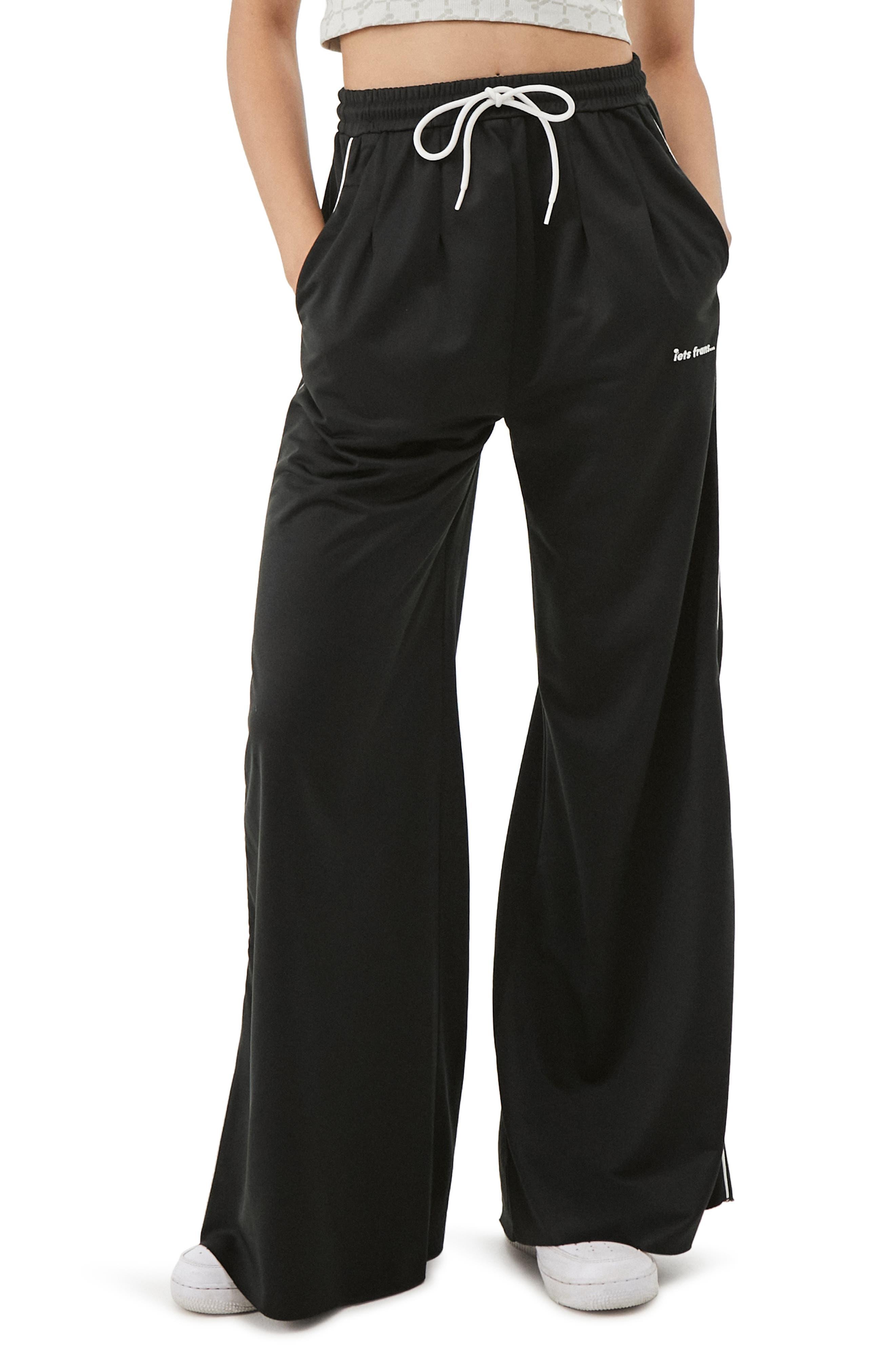 Wide Leg Pocket Joggers