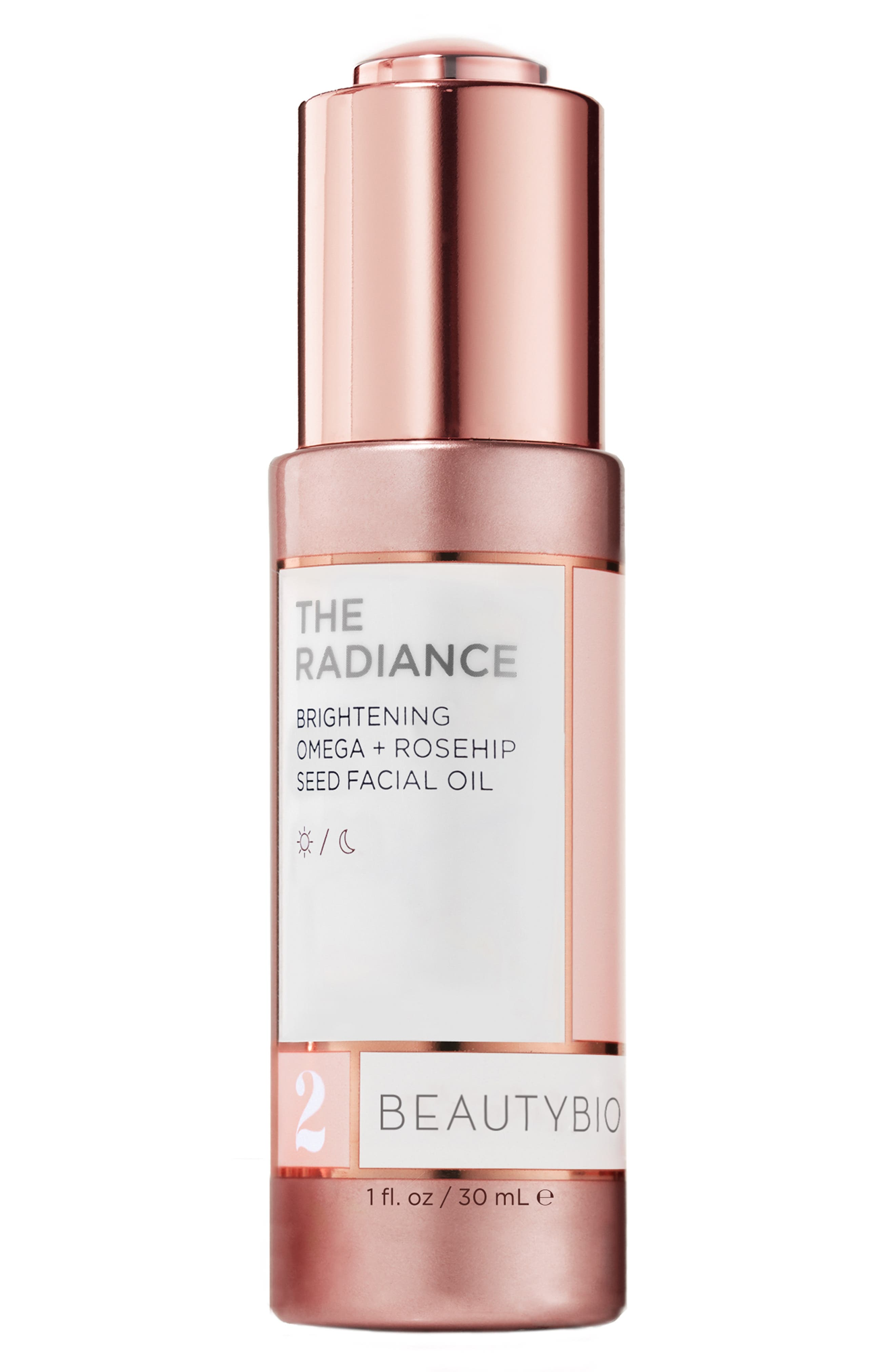 The Radiance Brightening Omega + Rosehip Seed Facial Oil