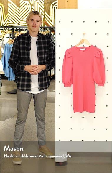 Puff Sleeve Sweater Minidress, sales video thumbnail