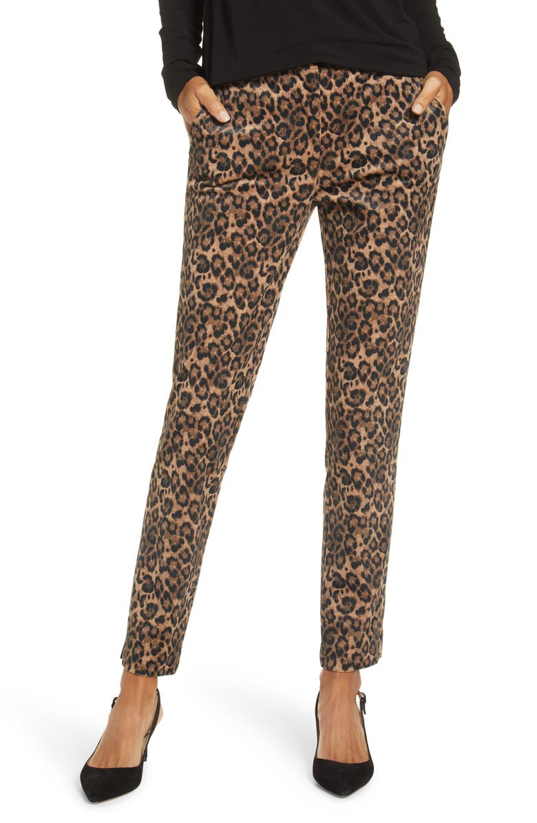GIBSON x Fall Refresh Fancy Ashley Tapered Pants, Main, color, BRUSHED JAGUAR