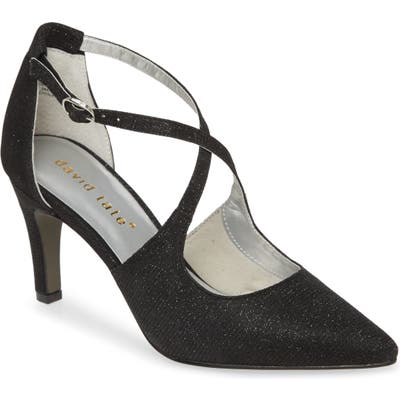 David Tate Aurora Pump, Black