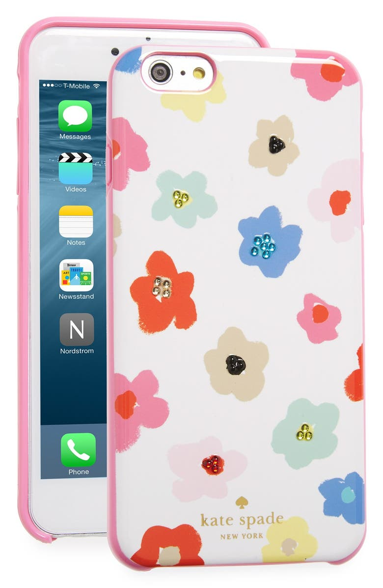 Kate Spade New York Faye Crystal Embellished Floral Iphone 6
