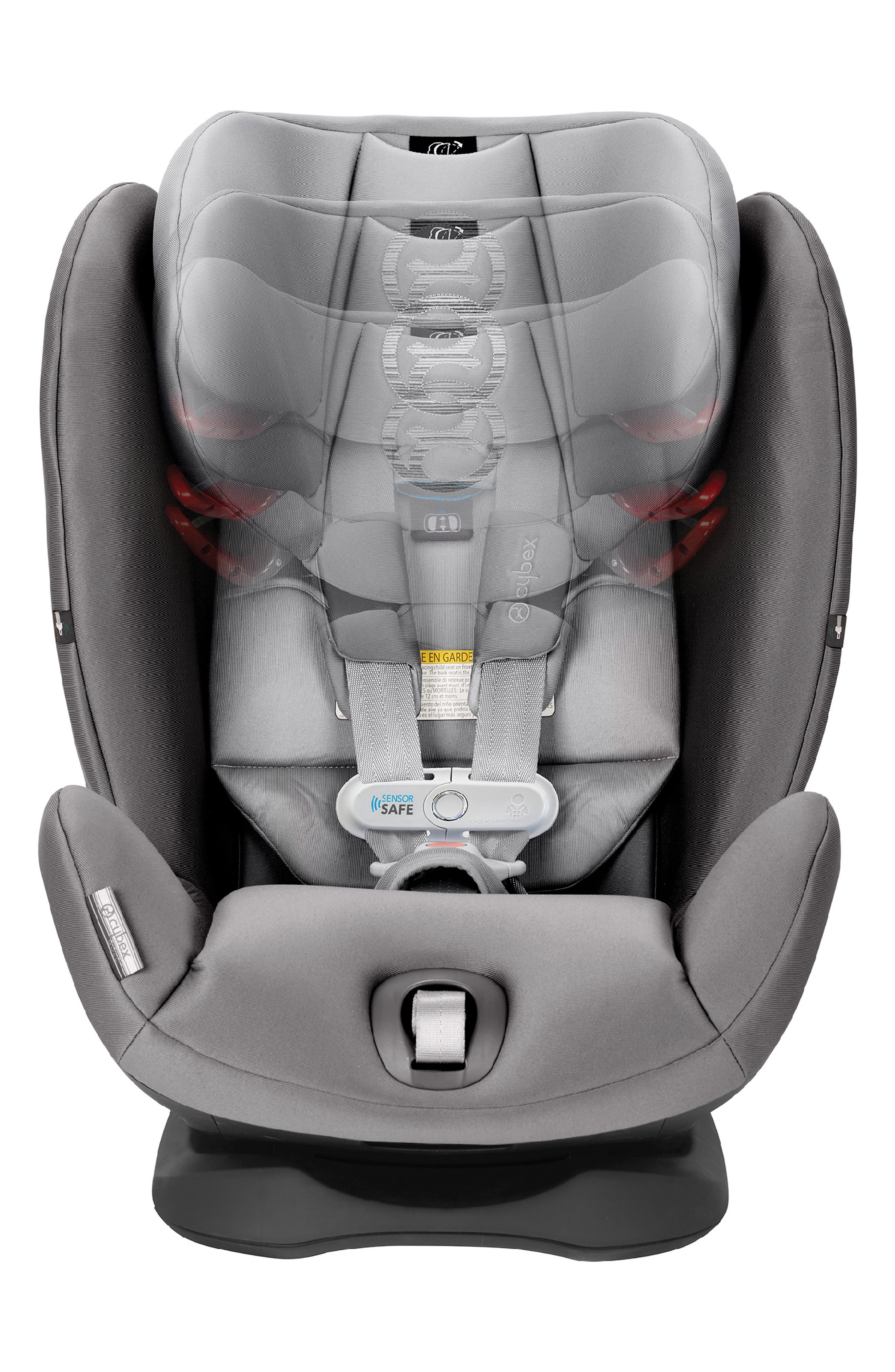 ,                             Eternis S SensorSafe<sup>™</sup> All-in-One Car Seat,                             Alternate thumbnail 11, color,                             BLACK/ GREY