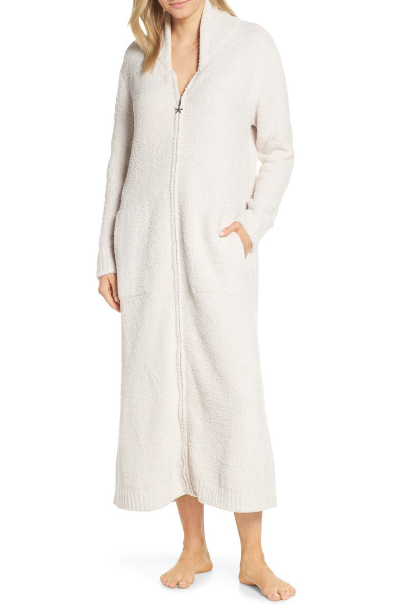 BAREFOOT DREAMS<SUP>®</SUP> CozyChic<sup>™</sup> Full Zip Robe, Main, color, 901