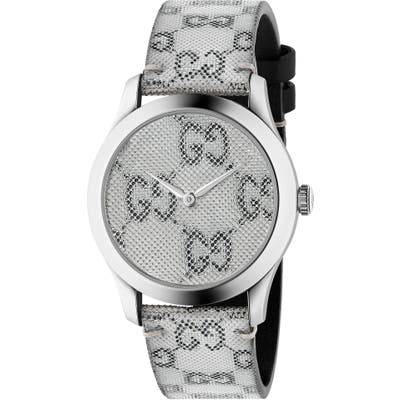 Gucci G-Timeless Holo Strap Watch,