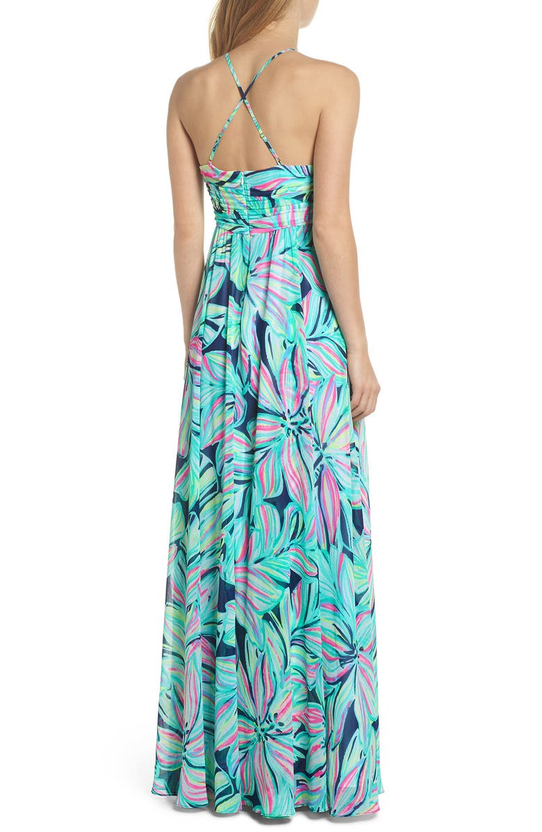 59f915aa1fe68f Lilly Pulitzer® Lannette Embellished Chiffon Maxi Dress | Nordstrom.