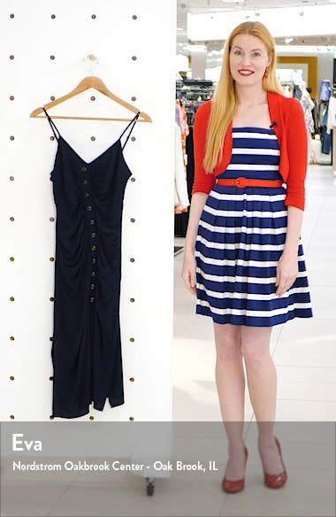 Ruched Slipdress, sales video thumbnail