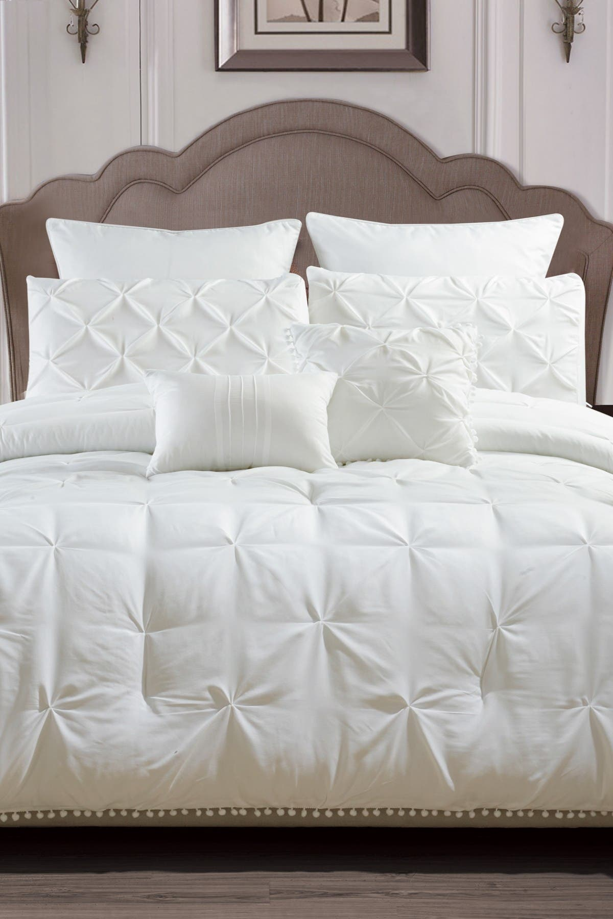 Duck River Textile Esmalinda 7 Piece King Comforter Set White Nordstrom Rack