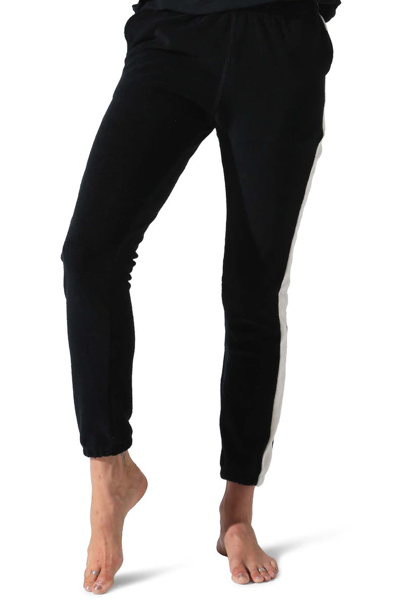 ELECTRIC & ROSE Huntley Joggers, Main, color, ONYX OFF WHITE