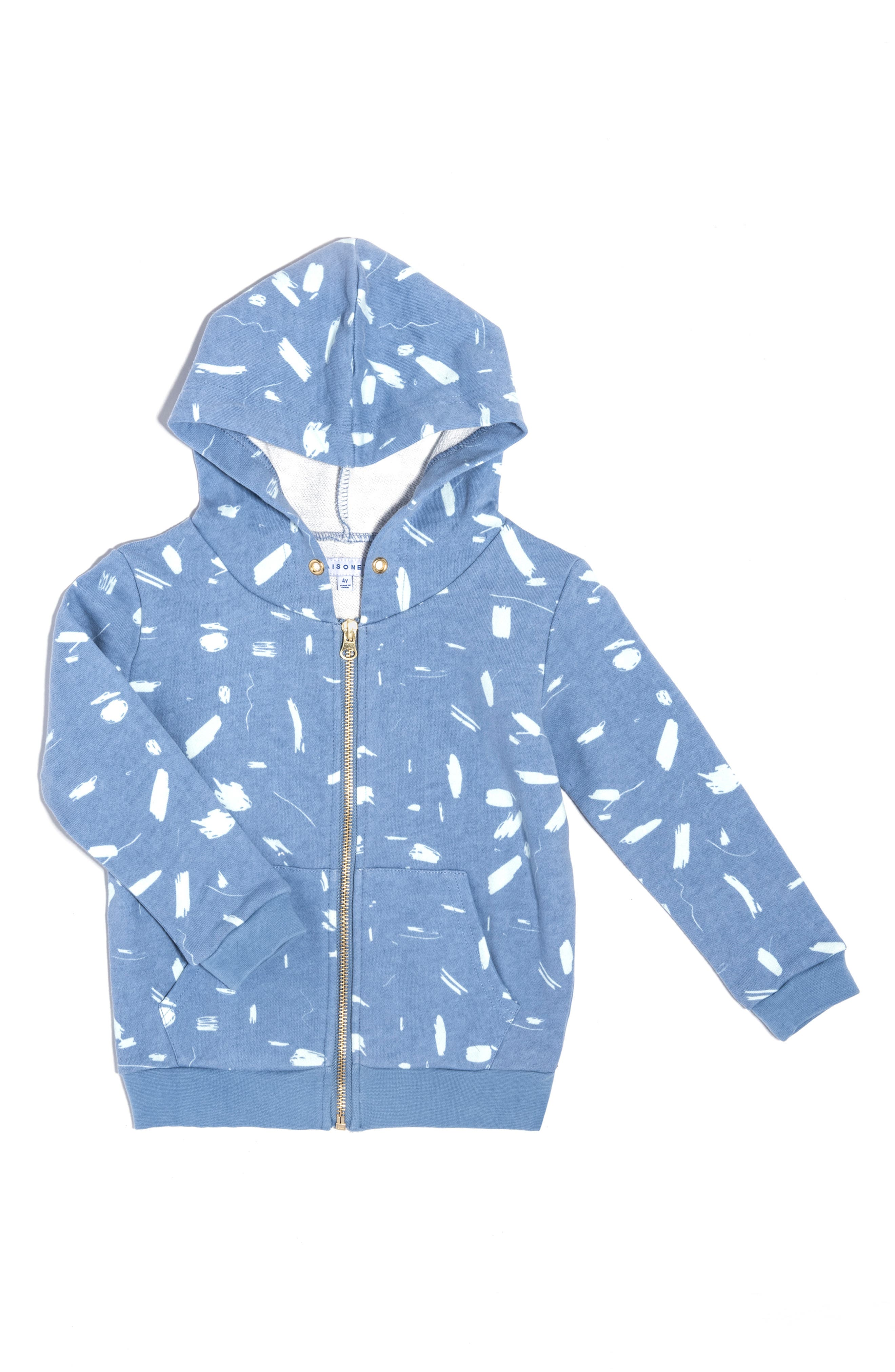 Toddler Maisonette Doodle Collection Hoodie Size 2Y  Blue