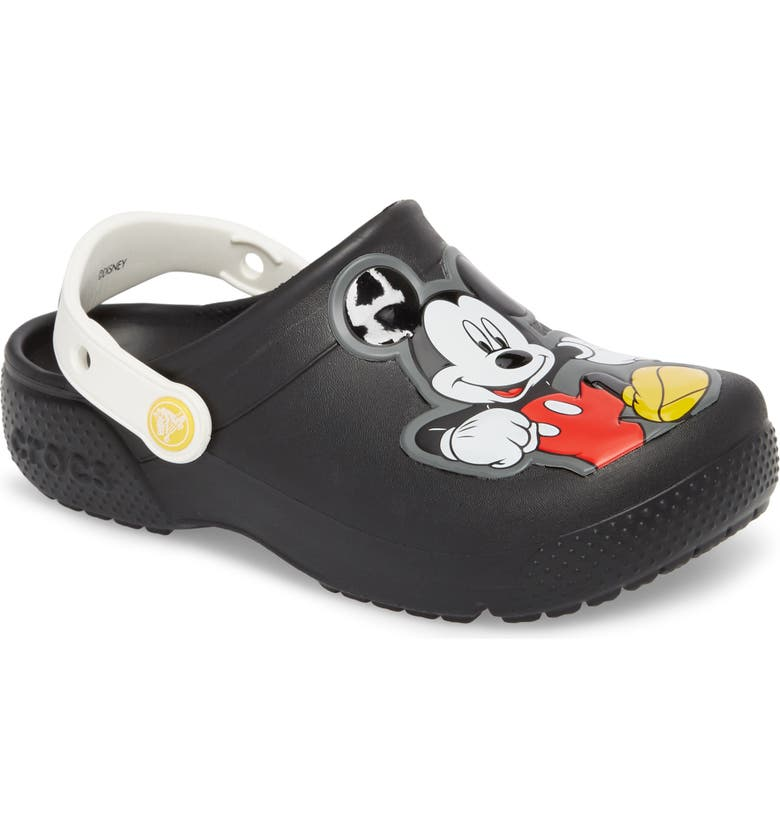 84567c60 CROCS™ Fun Lab Mickey Mouse® Clog (Baby, Walker, Toddler & Little ...