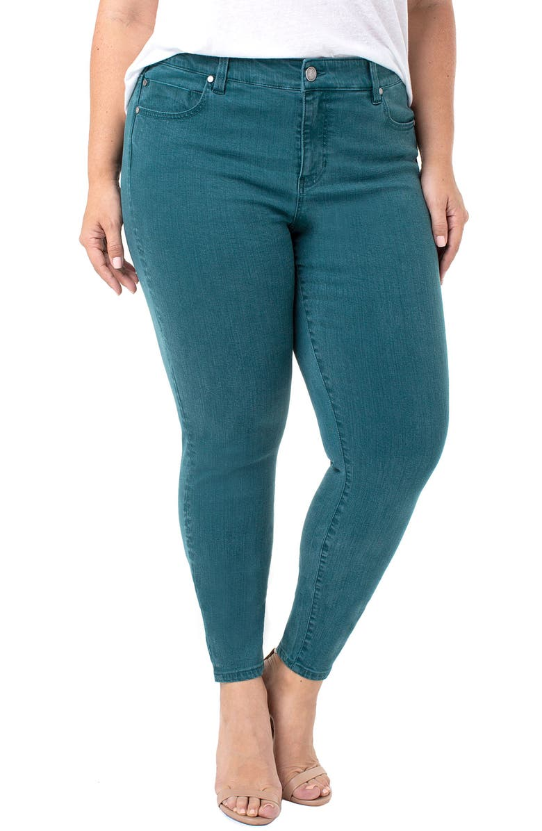 LIVERPOOL Abby Skinny Jeans, Main, color, 360