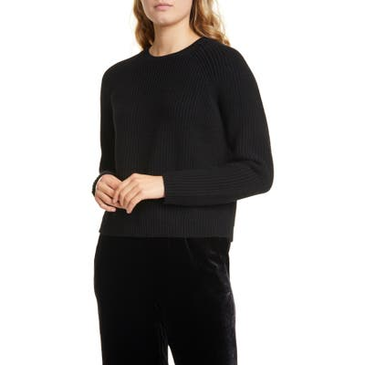 Eileen Fisher Cashmere & Wool Sweater, Black