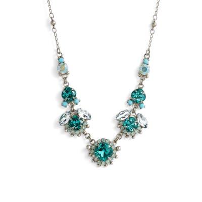 Sorrelli California Poppy Crystal Necklace