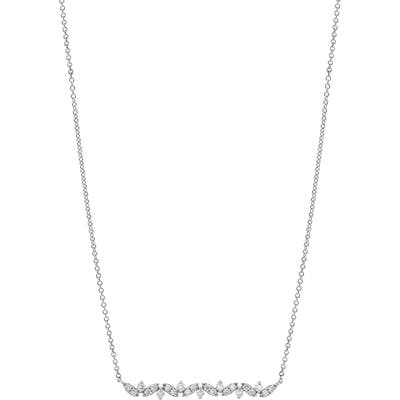 Bony Levy Getty Diamond Bar Pendant Necklace (Nordstrom Exclusive)
