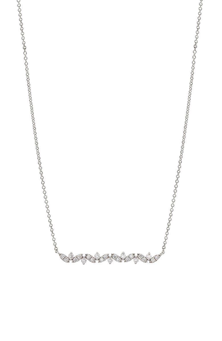 BONY LEVY Getty Diamond Bar Pendant Necklace, Main, color, 711