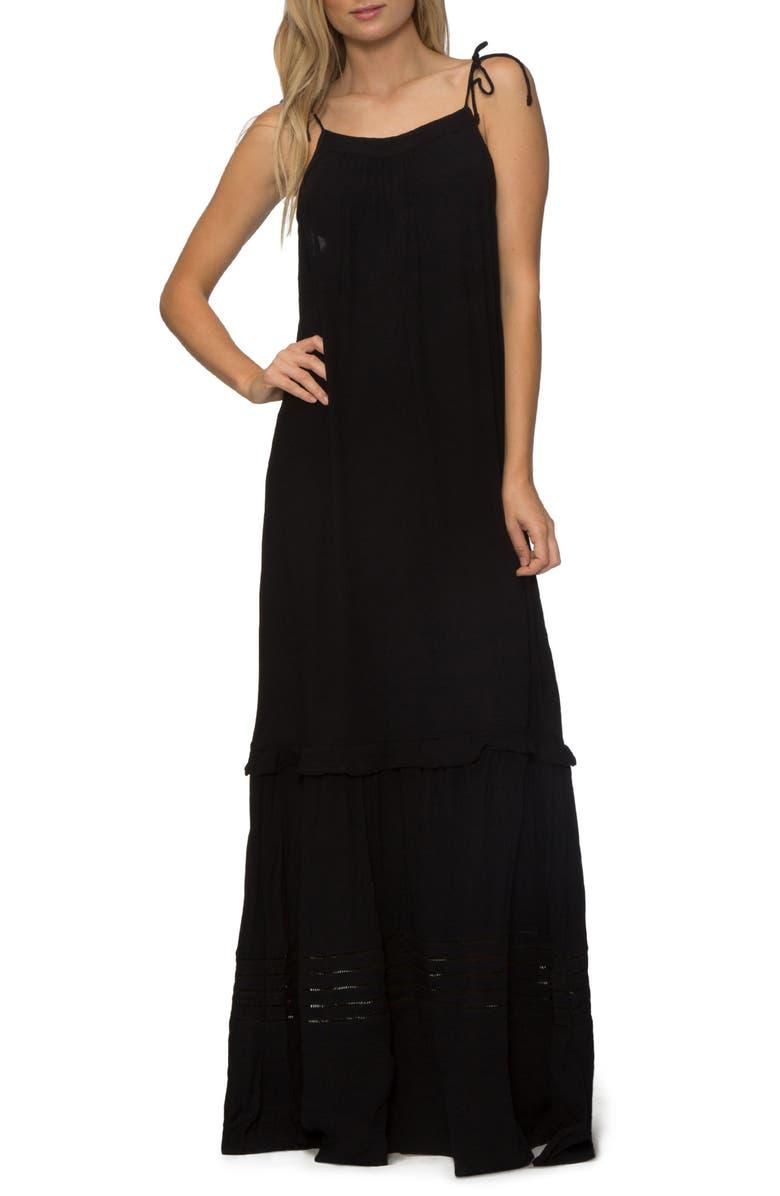 TAVIK Moonlight Cover-Up Maxi Dress, Main, color, 001