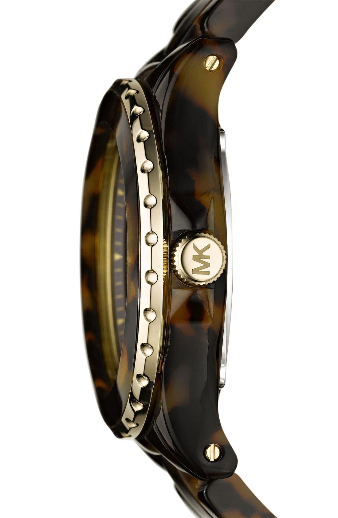 Michael Kors 'Jet Set' Crystal Index Watch, Main, color, 200