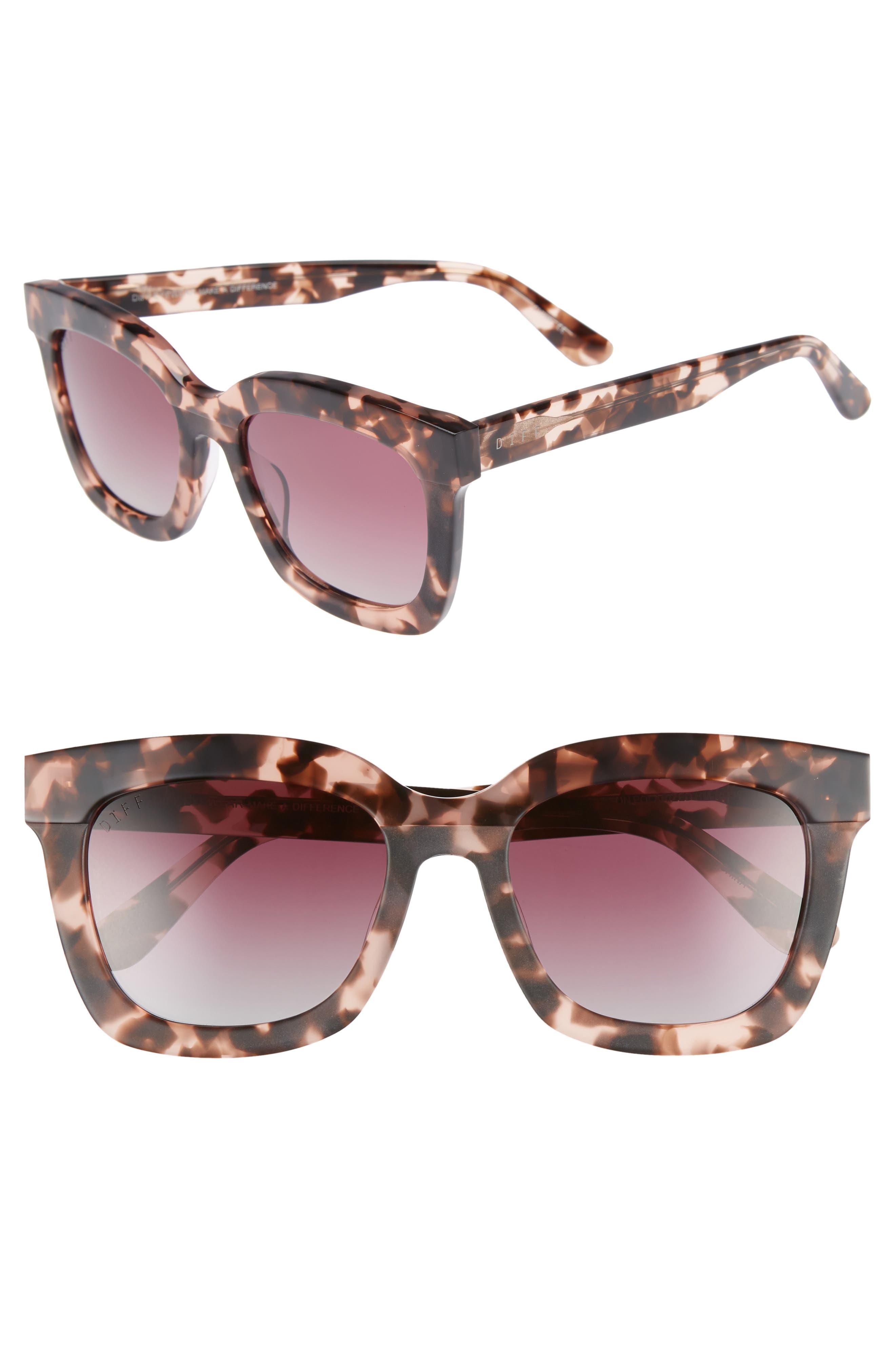 Carson 53mm Polarized Square Sunglasses