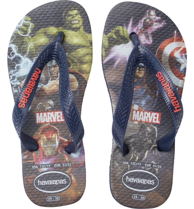 HAVAIANAS Top Marvel Flip Flop, Main, color, 406