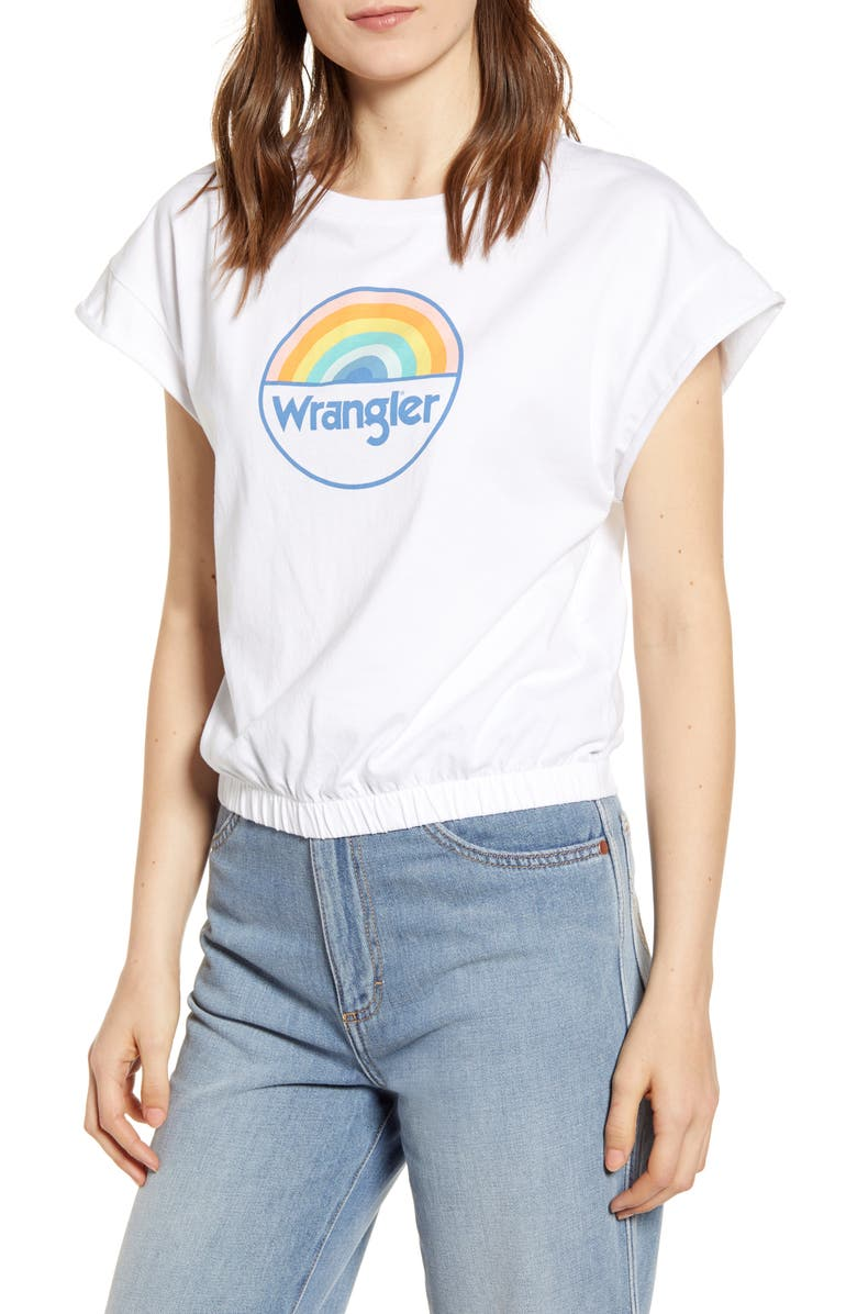 Wrangler Summer Rainbow Graphic Tee