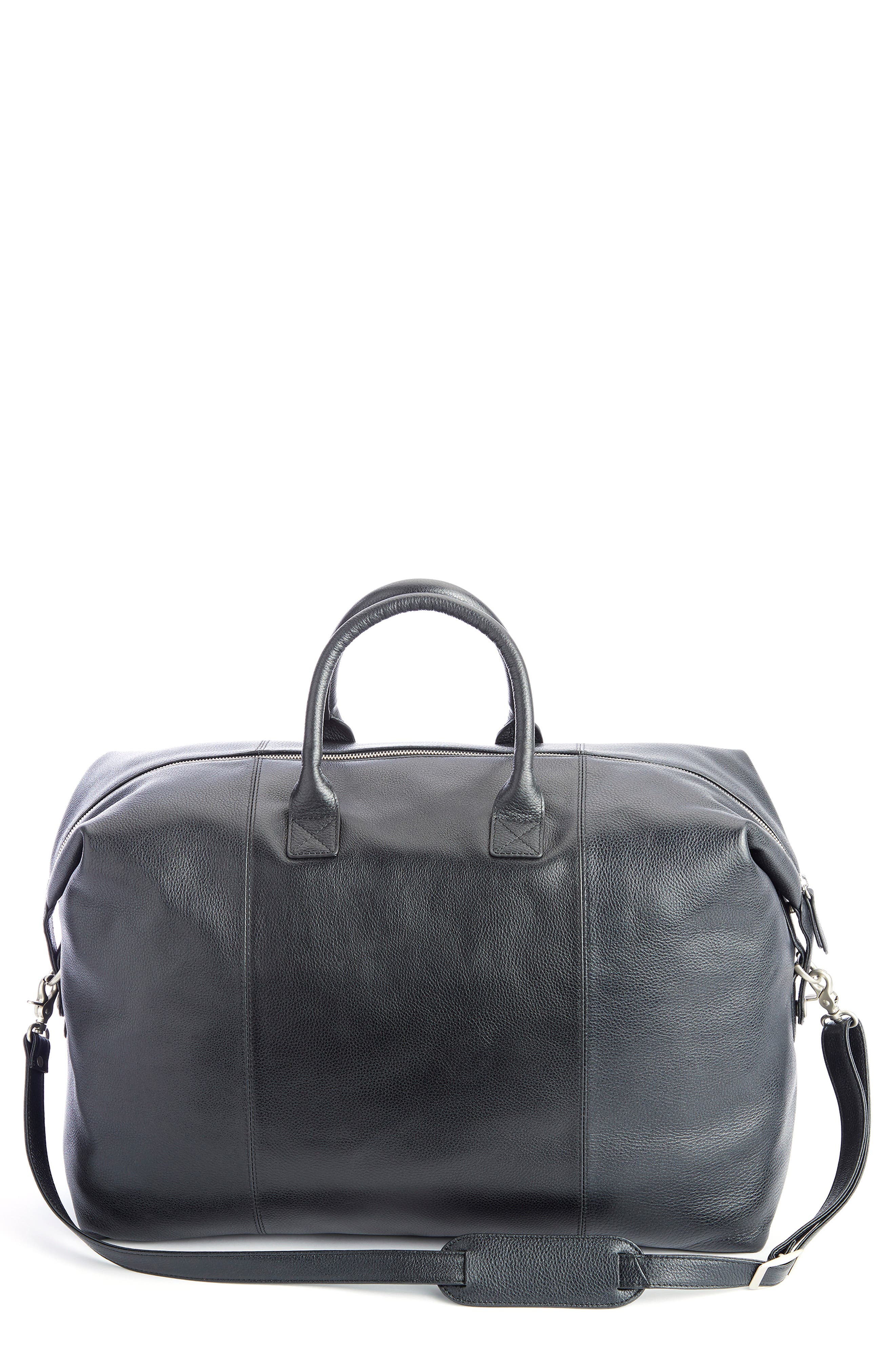 Weekend Leather Duffle Bag
