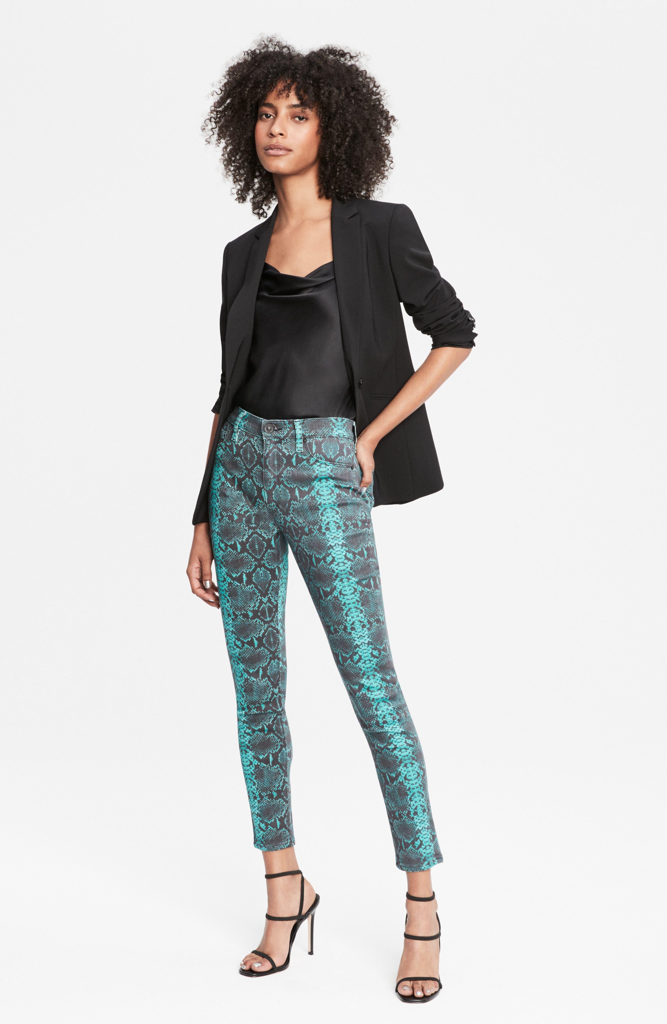 Women's Hudson Jeans Barbara High Waist Super Skinny Jeans,  27 -