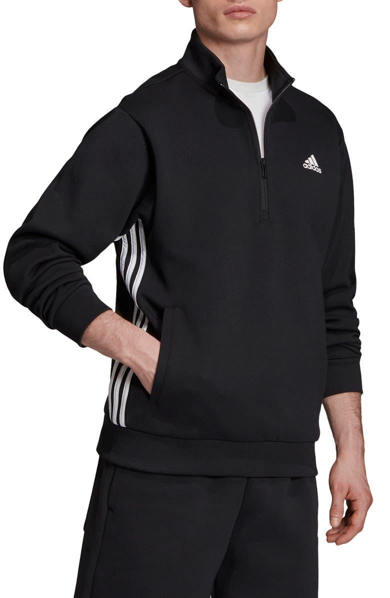adidas 3 Stripes Half Zip Pullover | Nordstrom
