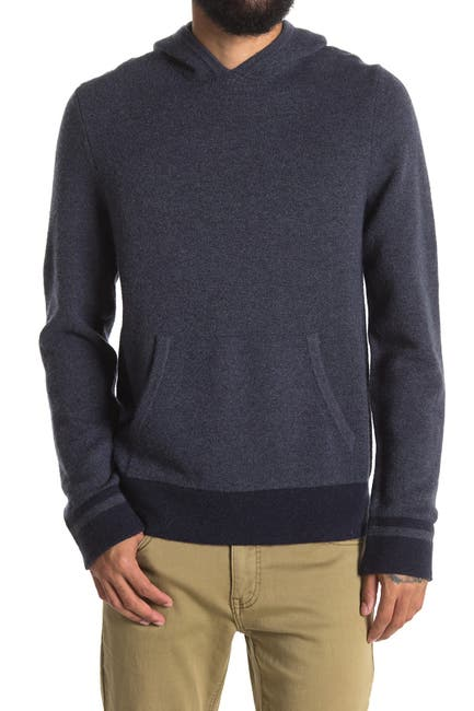 Image of Michael Kors Blocked Pullover Hood