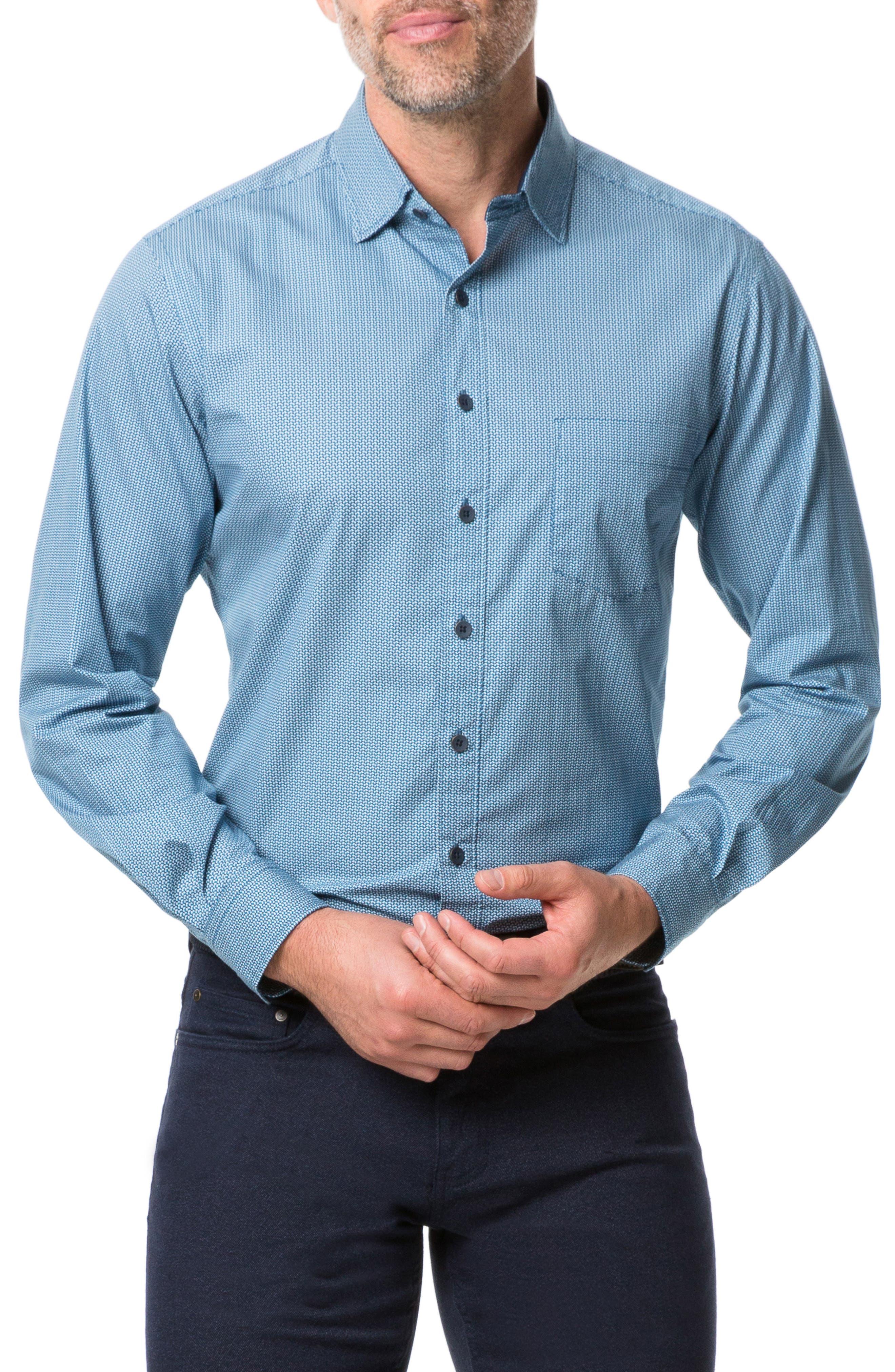 Image of RODD AND GUNN Terraces Regular Fit Button-Up Shirt
