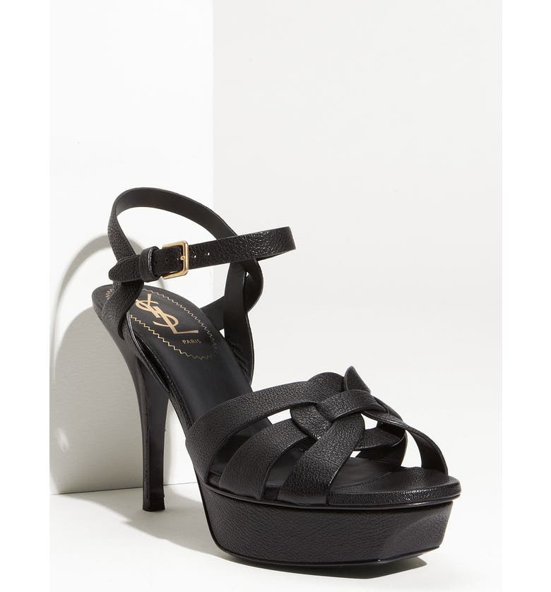 d6a23879c15 Yves Saint Laurent 'Tribute' Platform Sandal, Main, color, ...