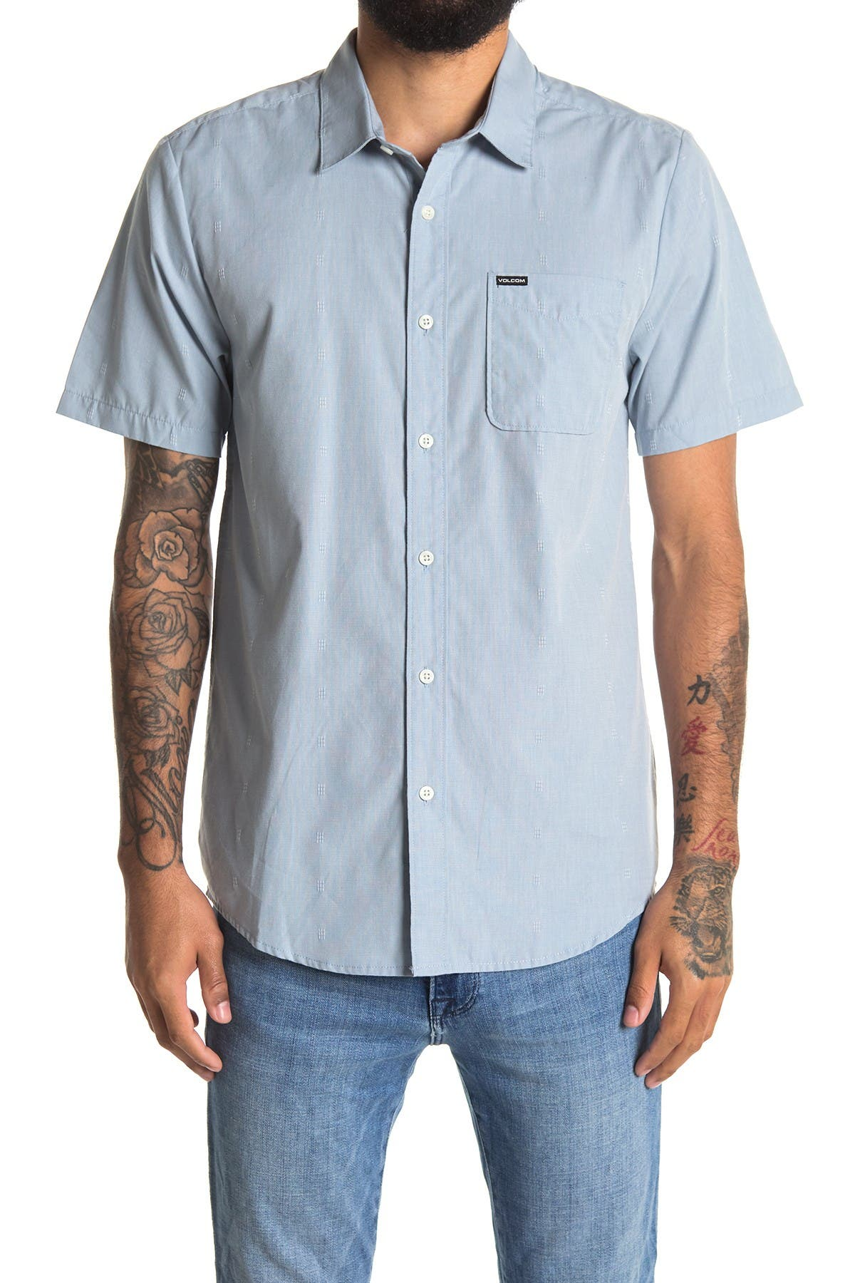Image of Volcom Newmark Short Sleeve Shirt