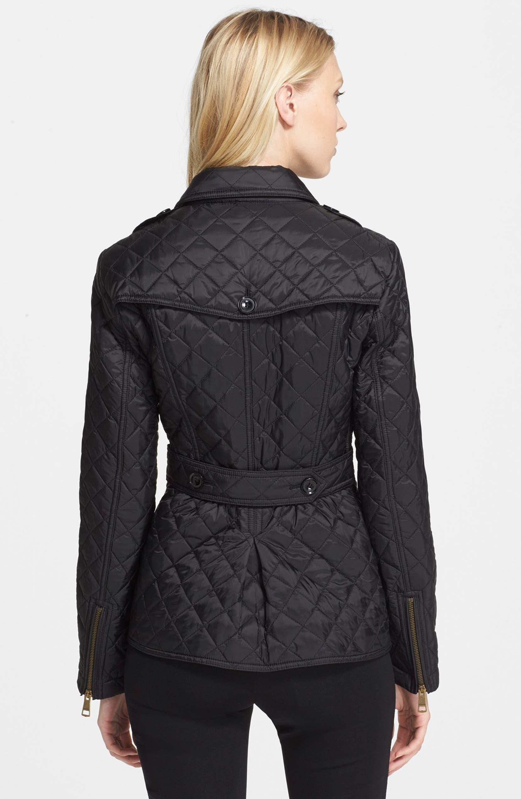 Marriford Diamond Quilt Jacket