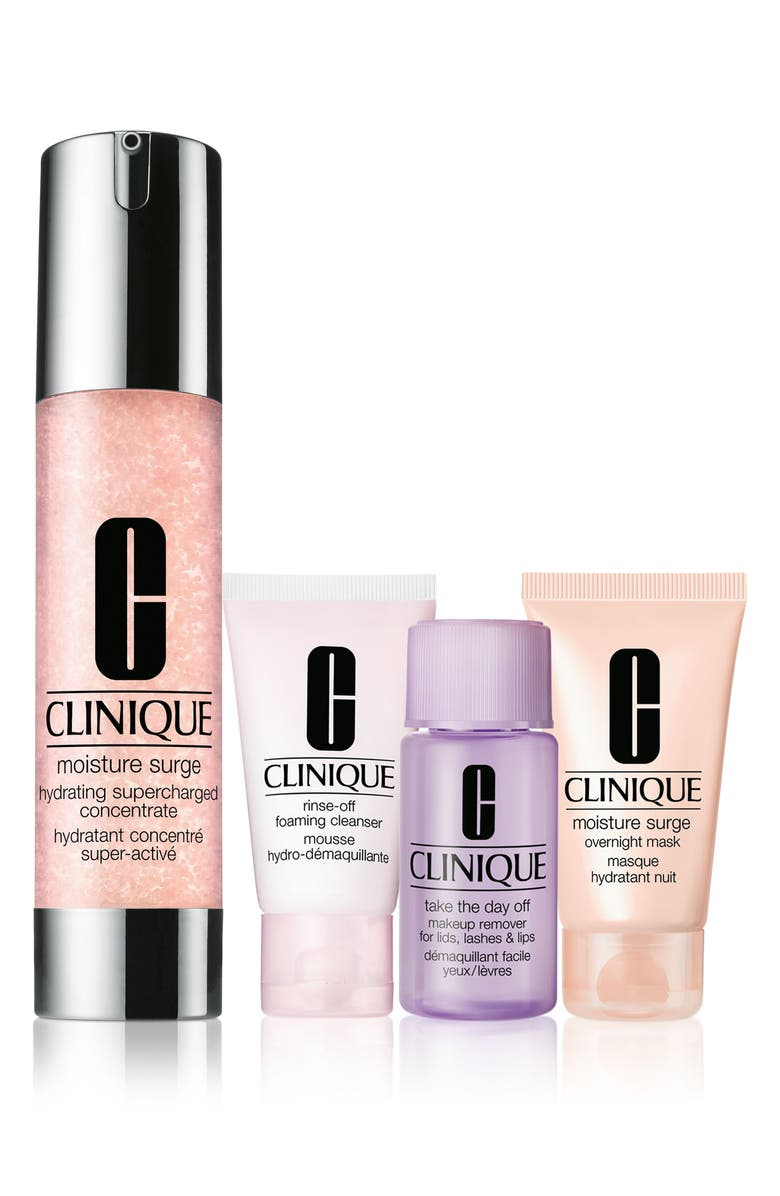 CLINIQUE Moisture Surge Overload Set, Main, color, NO COLOR