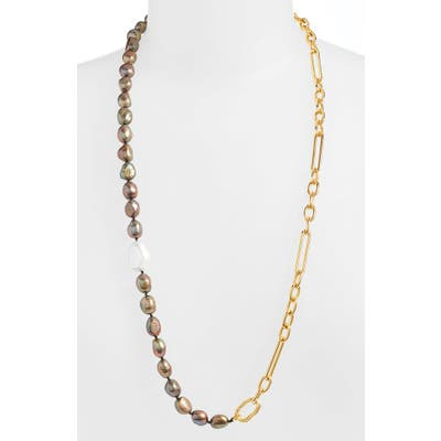 Lizzie Fortunato Harbour Freshwater Cultured Pearl Convertible Necklace
