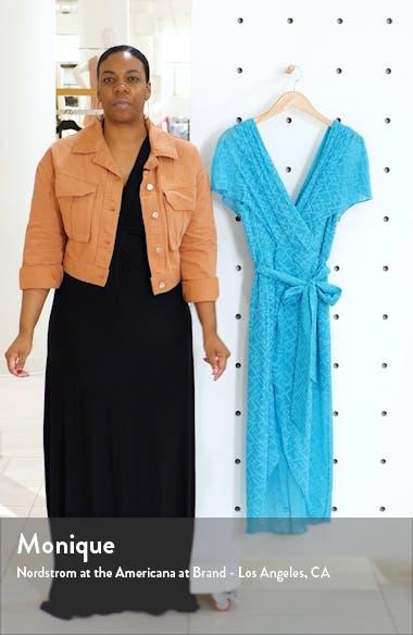 Darva Faux Wrap Party Dress, sales video thumbnail