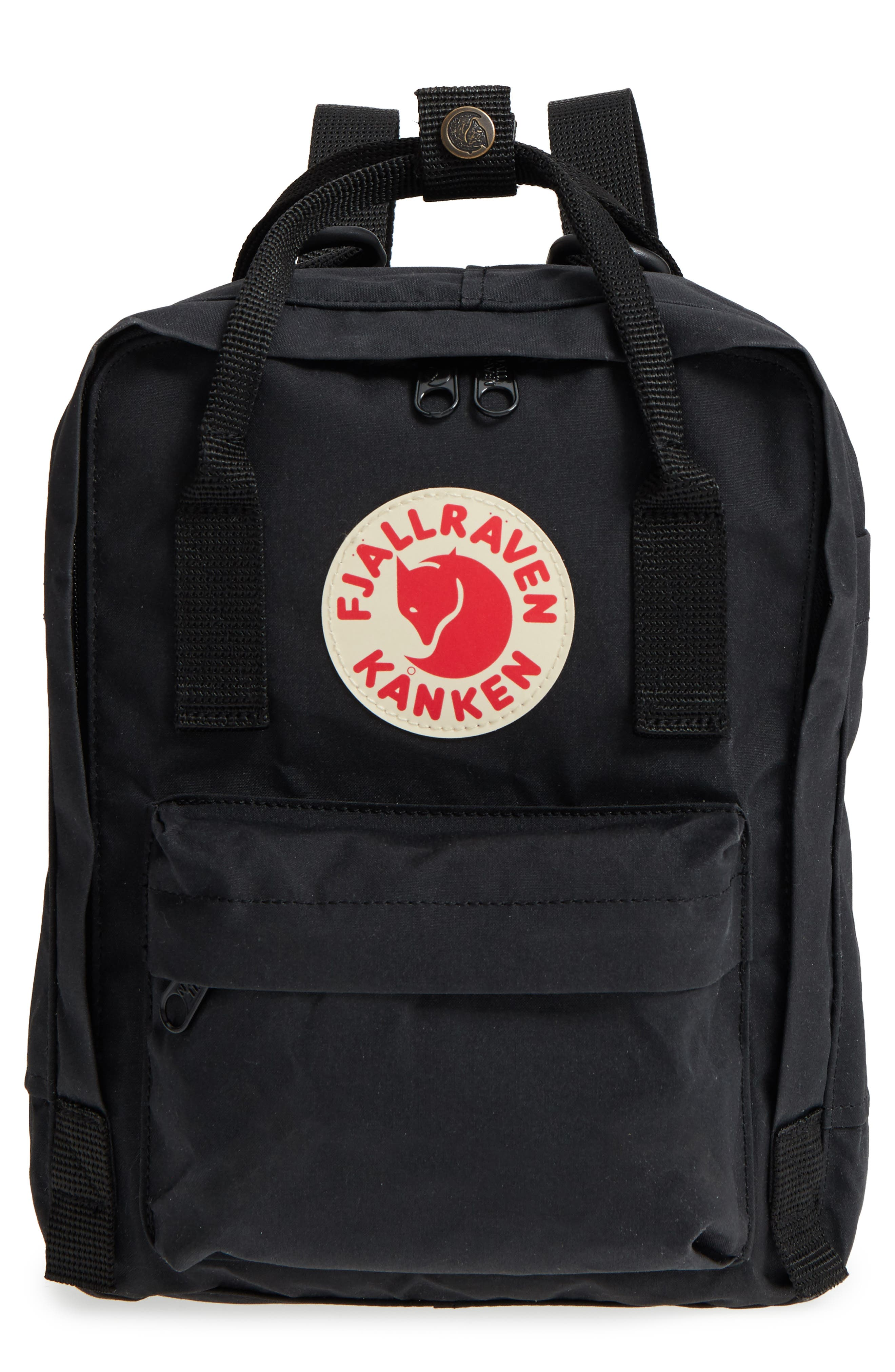 'Mini Kånken' Water Resistant Backpack, Main, color, BLACK
