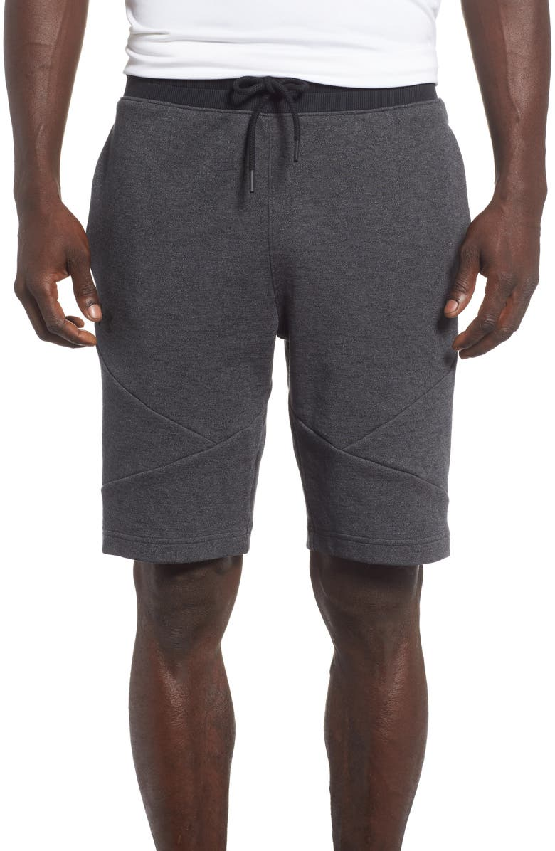 UNDER ARMOUR Sportstyle 2X Regular Fit Shorts, Main, color, 001