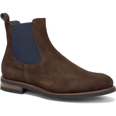 Trask Richmond Chelsea Boot- Brown