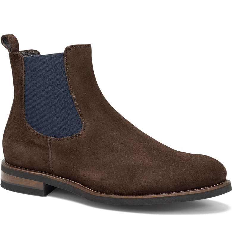 TRASK Richmond Chelsea Boot, Main, color, DARK BROWN