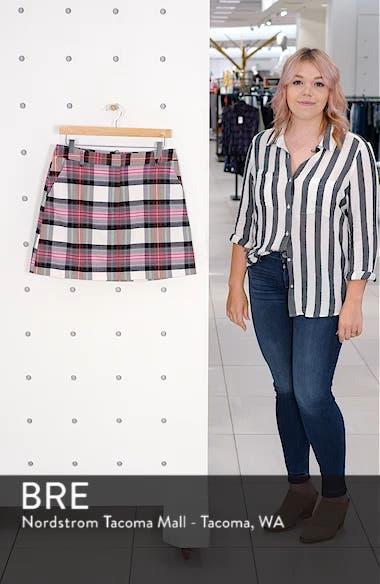 Tartan Pelmet Skirt, sales video thumbnail
