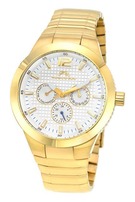 Image of Porsamo Bleu Men's Luca Bracelet Watch, 44mm