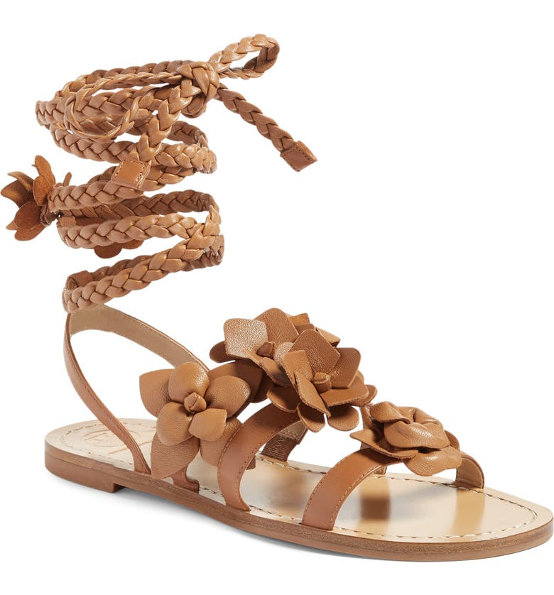 TORY BURCH Blossom Gladiator Sandal, Main, color, 206