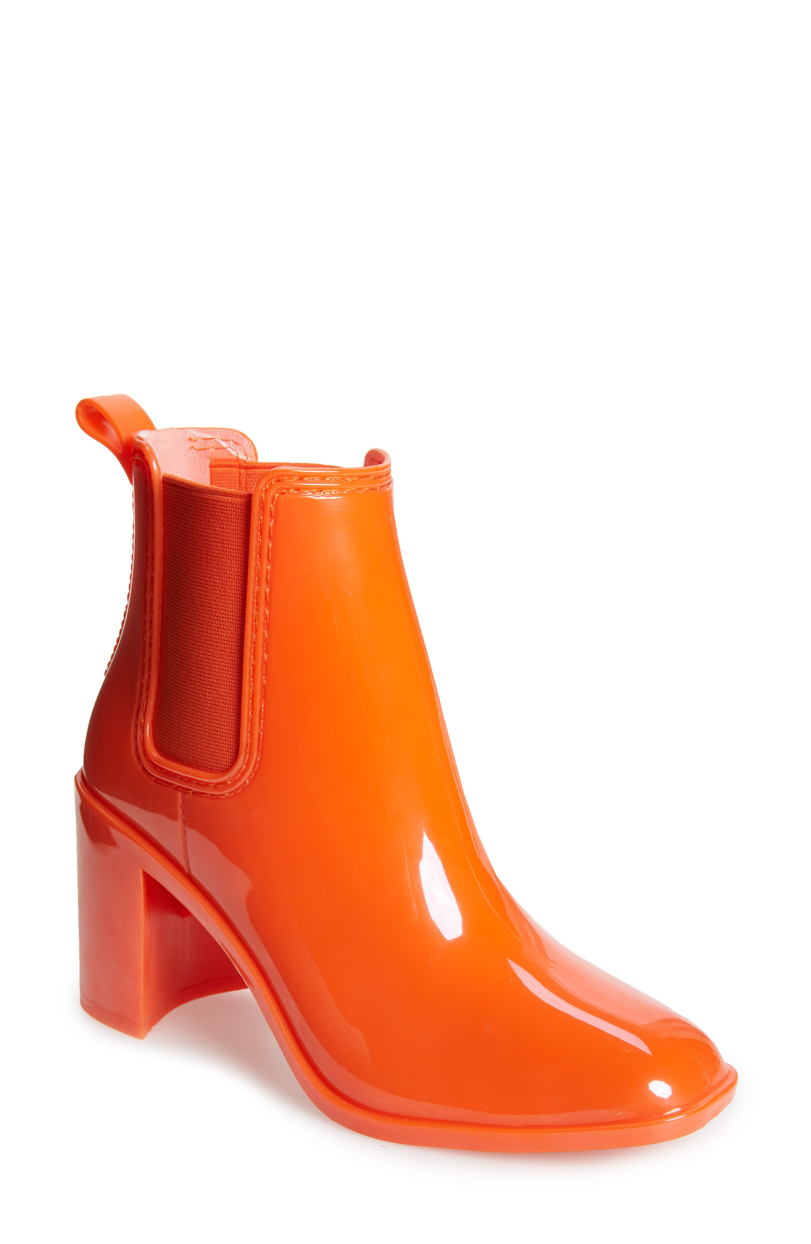 Jeffrey Campbell Hurricane Waterproof Boot, Orange